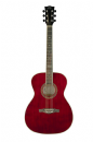 Eko NXT 018 Acoustic Guitar in Wine Red with Bag